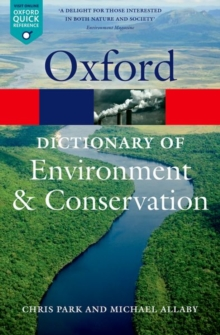 A Dictionary of Environment and Conservation, Paperback Book