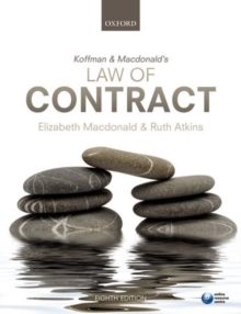 Koffman & Macdonald's Law of Contract, Paperback Book