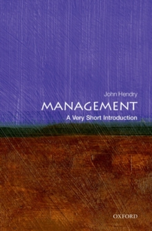 Management: A Very Short Introduction, Paperback Book
