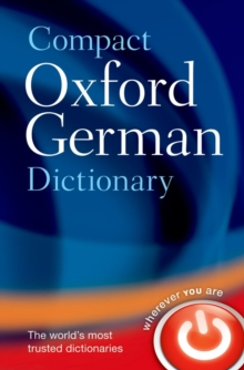 Compact Oxford German Dictionary, Paperback Book