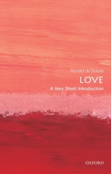 Love: A Very Short Introduction, Paperback Book