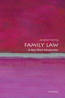 Family Law: A Very Short Introduction, Paperback Book