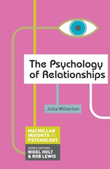 The Psychology of Relationships, Paperback Book