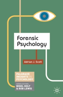 Forensic Psychology, Paperback Book