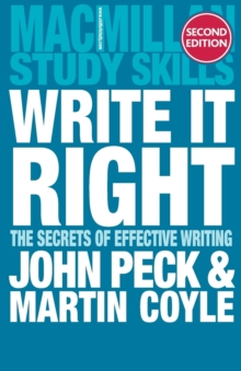 Write it Right : The Secrets of Effective Writing, Paperback Book