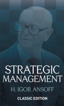 Strategic Management, Hardback Book