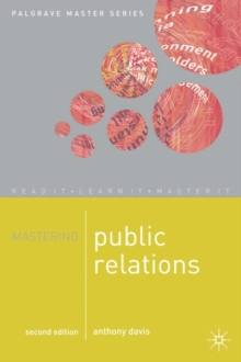 Mastering Public Relations, Paperback Book
