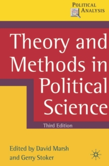 Theory and Methods in Political Science, Paperback Book