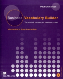Business Vocabulary Builder with Audio CD, Mixed media product Book