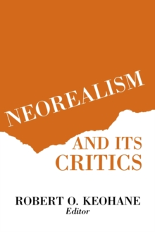 Neorealism and Its Critics, Paperback Book