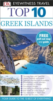 DK Eyewitness Top 10 Travel Guide: Greek Islands, Paperback Book