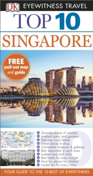 DK Eyewitness Top 10 Travel Guide: Singapore, Paperback Book
