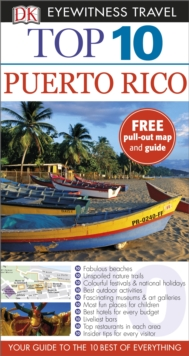 Dk Eyewitness Top 10 Travel Guide: Puerto Rico, Paperback Book