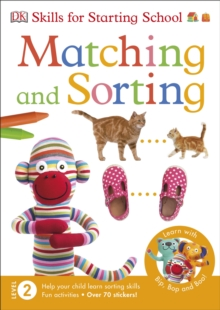 Skills For Starting School Matching and Sorting, Paperback Book