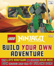 LEGO Ninjago Build Your Own Adventure, Hardback Book