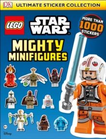Lego Star Wars Mighty Minifigures Ultimate Sticker Collection, Paperback Book