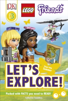 Dk Reads Lego Friends Let's Explore!, Hardback Book