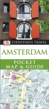 DK Eyewitness Pocket Map and Guide: Amsterdam, Paperback Book