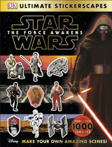 Star Wars: The Force Awakens Ultimate Stickerscapes, Paperback Book
