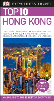 DK Eyewitness Top 10 Travel Guide: Hong Kong, Paperback Book