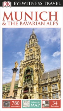 DK Eyewitness Travel Guide Munich & the Bavarian Alps, Paperback Book