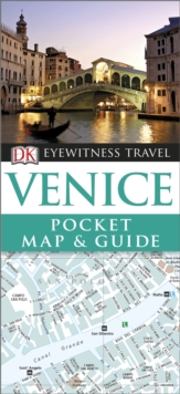 DK Eyewitness Pocket Map and Guide: Venice, Paperback Book