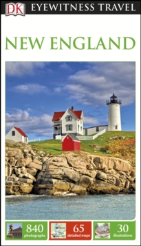 DK Eyewitness Travel Guide New England, Paperback Book