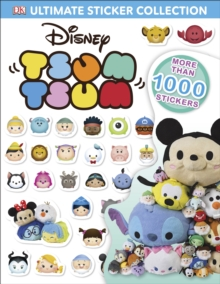 Disney Tsum Tsums Ultimate Sticker Collection, Paperback Book