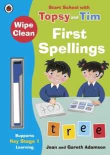 Wipe-Clean First Spellings: Start School with Topsy and Tim, Paperback Book
