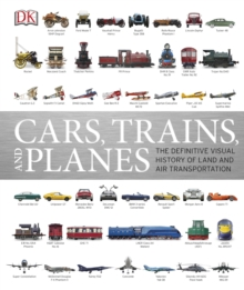 Cars, Trains And Planes, Hardback Book