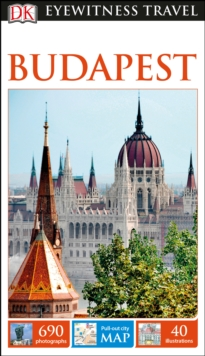 DK Eyewitness Travel Guide Budapest, Paperback Book