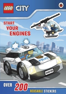 LEGO City: Start Your Engines, Paperback Book