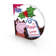 Peppa Loves Christmas, Board book Book