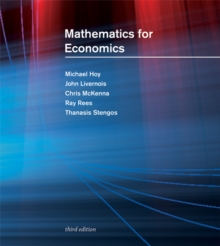 Mathematics for Economics, Paperback Book