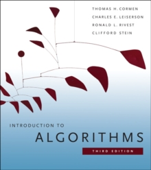 Introduction to Algorithms, Paperback Book