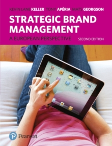 Strategic Brand Management : A European Perspective, Paperback Book
