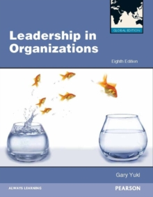 Leadership in Organizations, Paperback Book