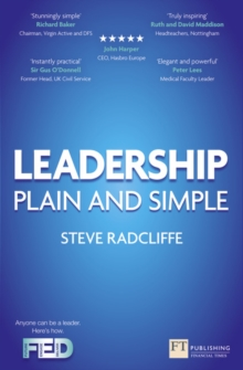 Leadership : Plain and Simple, Paperback Book