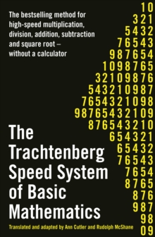 The Trachtenberg Speed System of Basic Mathematics, Paperback Book