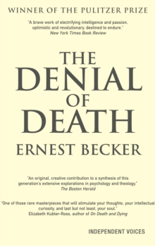 Denial of Death, Paperback Book