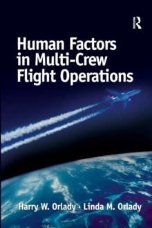 Human Factors in Multi-crew Flight Operations, Paperback Book