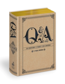 Q And A A Day, General merchandise Book