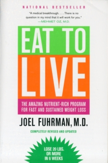 EAT TO LIVE, Paperback Book