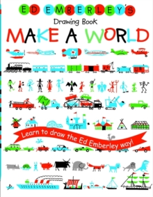 Ed Emberley's Drawing Book : Make a World, Paperback Book