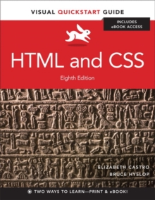 HTML and CSS : Visual QuickStart Guide, Mixed media product Book