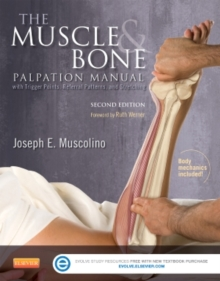 The Muscle and Bone Palpation Manual with Trigger Points, Referral Patterns and Stretching, Paperback Book