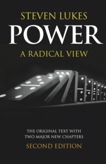 Power : A Radical View, Paperback Book