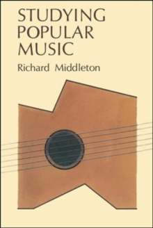 Studying Popular Music, Paperback Book