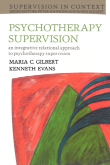 Psychotherapy Supervision, Paperback Book