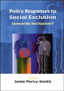 Policy Responses To Social Exclusion, Paperback Book